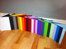 CARD BLANKS PRE SCORED A6 U CHOOSE COLOUR AND QUANTITY WITHOUT ENVELOPES