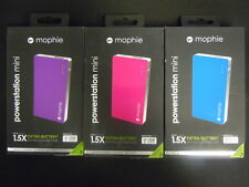 New in Box OEM Mophie Juice Pack Powerstation Mini 2500mAh Backup Battery Pack
