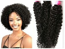 100% Virgin 10''-30'' Kinky Curly Human Hair Weave Extension Unprocessed 50/100g