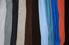 Jersey Knit Rayon Blend Spandex Lycra 2 Way Stretch Fabric 11 Colors Soft BTY