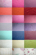 ** 2 x A4 Sheets of Thick Handmade Paper - Many Colour Choices - FREE POSTAGE **