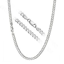 925 Sterling Silver Men's Italian 5mm Cuban Curb Link Chain Necklace ALL SIZES