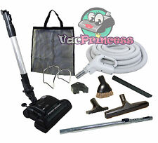 30' or 35' Central Vacuum Kit w/Hose, Power Head & Tools Beam Electrolux Nutone