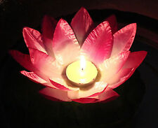 Lotus Flower Good Luck Wishing Floating Light River Pond Chinese Candle Lantern