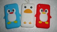 Penguin Silicone Jelly Back Case Cover for Apple iPhone 3GS
