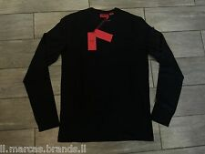 HUGO BOSS Mens Long Sleeved Crew Neck T-Shirt by BOSS Red Label - New With Tags