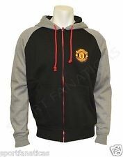 MANCHESTER UNITED HOODIE SOCCER  jacket Zippered NEW SEASON 2014-2015