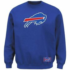 Buffalo Bills NFL Majestic Classic KDF Men's Sweatshirt Blue Big & Tall Sizes