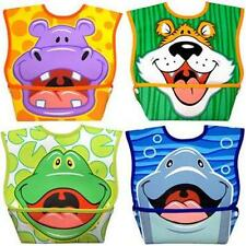 "BABY BIBS - Leak-Proof Patented ""Catch-All"" Waterproof Bibs"