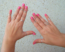 # 1. Silver Band Ring 1mm 2 mm 3mm All sizes Toe ring Midi ring