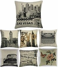"Heritage Jaquard Tapestry 17"" x 17"" Cushion Cover Or Complete Cushion One Pair"