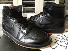Nike Air Jordan Retro 1 I High OG Black Gum Light Brown Toe Bred Royal Blue Hi
