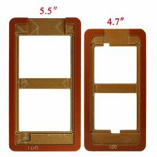 For iPhone 6 &5.5 Plus Outer Glass Lens Repair Mould Mold Alignment LOCA UV Glue