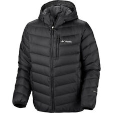 COLUMBIA MENS DOWN OMNI HEAT INSULATED HOODED WINTER JACKET/COAT WARM S-M-L-XL