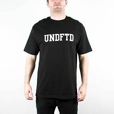 UNDEFEATED UNDFTD LOGO TEE SHIRT BLACK UNDFTD PLAY DIRTY