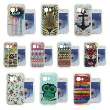 Picture TPU GeL Soft Case Cover Skin Back For Samsung Galaxy Young 2 SM-G130H