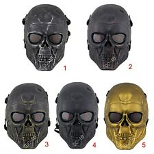 War Game Airsoft Paintball Strike Protection Gear Terminator T800 SkullFace Mask