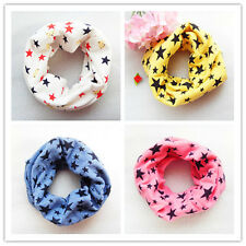 Hot Sell Children 9 color Classic cotton Winter knitting scarf kids Ring Scarf