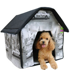 Wholesale Portable Pet House Bed Collapsible Warm &Soft Indoor For Pet House Bed