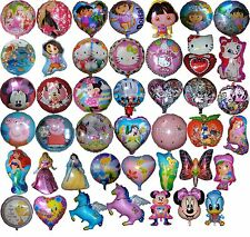 GIRL THEME BALLOON (OVER 40 DESIGNS) BIRTHDAY PARTY SUPPLIES DECOR -1PCE