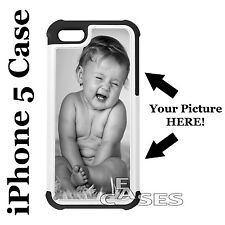 Custom Apple iPhone 5/5s Case Personalized Photo Cover DIY Personal Picture Case