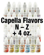 Capella Flavor Drops Discounted Flavor ANY Food or E-juice 0 Calories 0 Sugar