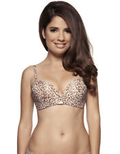 Gossard Supersmooth Animal Print Non Wired Plunge Bra 8811