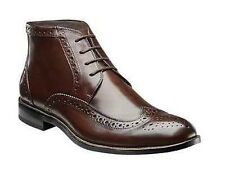 STACY ADAMS GAGE MEN'S DRESS BOOTS BROWN LEATHER WING TIP STYLE#24918-200