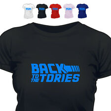 Back To The Tories Conservatives T Shirt All Size/Col