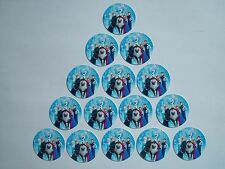 """15 count 1"""" Frozen Group Inspired buttons pinbacks flatbacks crafts hairbows"""