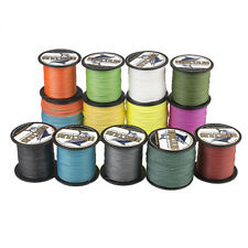 8 Strands Braid Fishing Line 100M 10LB-300LB PE Dyneema Spectra Multicolor 109Y