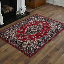 NEW CLASSIC TRADITIONAL RED SMALL MEDIUM LARGE EXTRA LARGE CHEAP SOFT RUGS MATS
