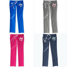 AEROPOSTALE NEW WOMEN SKINNY FIT SWEATPANT,PANTS,STRETCH,NWT,GRAY,BLUE,PINK,NICE