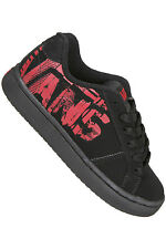 (CLEARANCE) VANS Toddlers Widow Shoe in (Mixed) Black/Red (CLEARANCE)