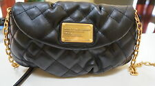 MARC BY MARC JACOBS Crossbody Karlie Black/gold Leather NWT Absolutely GORGEOUS