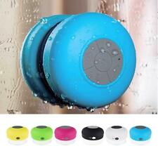 New Waterproof Bluetooth Wireless Mini Speaker Suction+USB Power Cable+Manual