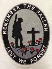REMEMBER THE FALLEN / POPPY EMBROIDERED POLO SHIRT