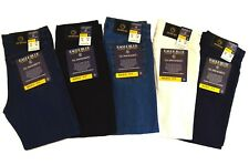 Men Eagle blue jeans Classic straight leg jeans colored denim 100% Cotton 28-42