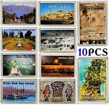 Souvenir fridge magnets with Holy land images Israel Gift Red Dead Galilee Sea