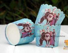 PARTY Supplies Tablecloth Cupcake Cases Wrappers DISNEY Frozen Cards Tableware