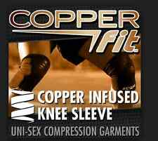 ORIGINAL COPPER FIT KNEE COMPRESSION SLEEVE RELIEVES MUSCLE /JOINT PAIN
