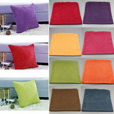 Pillow Case Corduroy Cushion Cover Decorative Square Home Throw Sofa Simple
