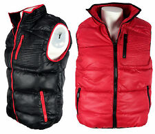Mens Gilet Padded Bodywarmer Full Zip Sleeveless Jacket