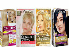 Loreal Excellence Creme Recital Preference o Casting Hair Colour Blonde or Black