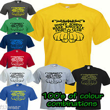 BARE KNUCKLE FIGHT CLUB  T SHIRT gym boxing retro muscle golds powerhouse worlds