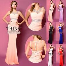 Newly Design Formal Evening Gown Bridesmaid Prom Long Cocktail Party Long Dress