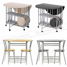 Promotion Extening Kitchen Dining Tables and 2/4 Chairs Breafast Bar Dining Set