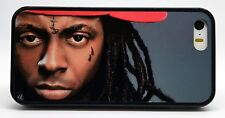 LIL WAYNE WEEZY RAP HIP HOP BLACK CASE FOR IPHONE 6S 6 PLUS 5 5S 5C 4 4S COVER