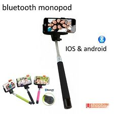 Bluetooth Mobile Phone Wireless Self Portrait Monopod Android/iPhone Handheld