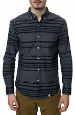 Karmaloop SLVDR The Viper LS Buttondown Shirt Blue